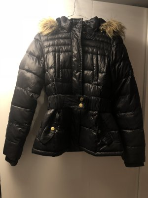 Review Fake Fur Jacket black