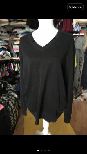 Verkaufe schwarzen Basic Pullover von S.Oliver