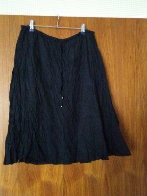 Verkaufe schwarzen Knitterrock von BUFFALO Gr. 36/38 2 mal getragen