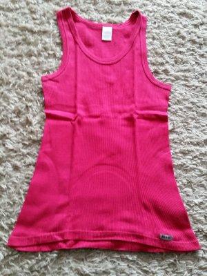 Verkaufe selten getragenes Top in pink Gr. 36/38 von HIS
