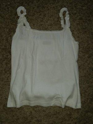 Verkaufe Shirt Gr. 36/38 in weiß von Chillytime