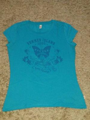 Verkaufe Shirt Gr. L in türkis von QS by S. OLIVER