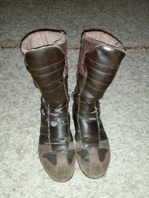 Verkaufe Stiefel in braun Gr. 40 von S. OLIVER