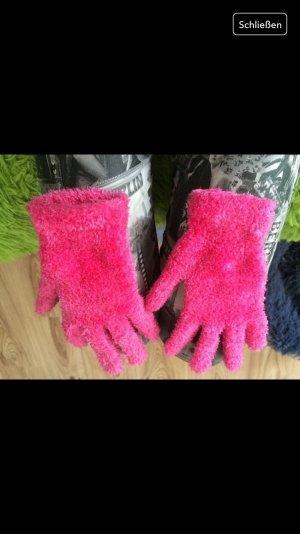 Verkaufe suesse pinke Handschuhe