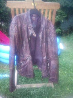 Verkaufe tolle Lederjacke von gipsy