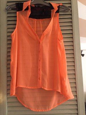 Verkaufe top in neon orange