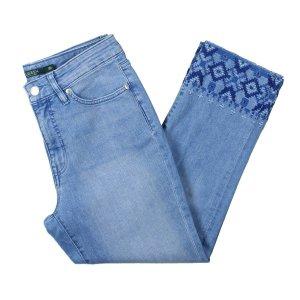 Lauren by Ralph Lauren 7/8-jeans paars-korenblauw