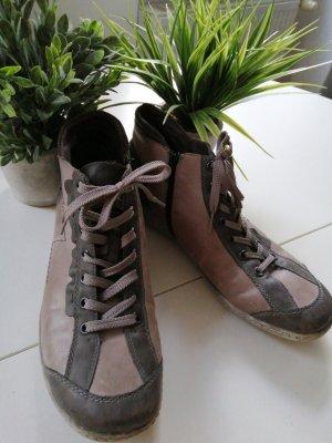 Remonte High Top Sneaker grey-grey brown