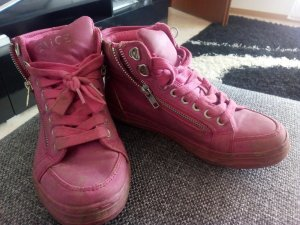 Vernice pink sneakers gr 36 turnschuhe boots