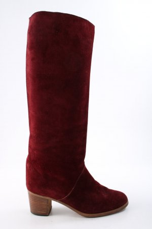 Vero Cuoio Heel Boots red casual look