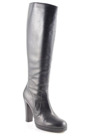 Vero Cuoio Absatz Stiefel schwarz Elegant
