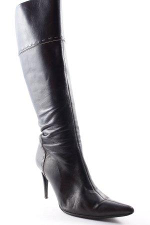 Vero Cuoio Absatz Stiefel schwarz extravaganter Stil