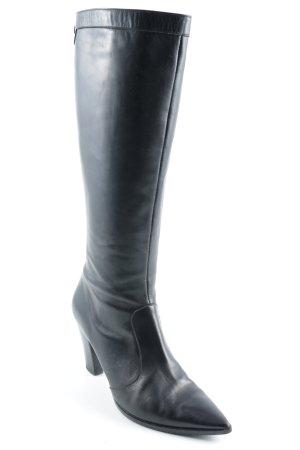 Vero Cuoio Absatz Stiefel schwarz klassischer Stil