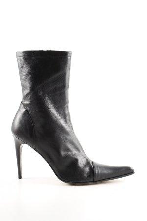 Vero Cuoio Absatz Stiefel schwarz schlichter Stil