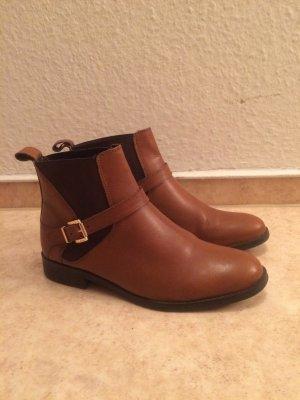 Vero Cuoio Braune Chelsea Boots Gr.38