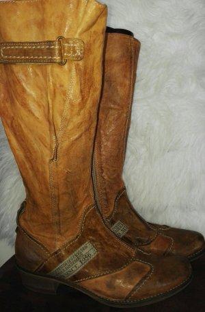 Vero Cuoio echtes Leder Westernstiefelette