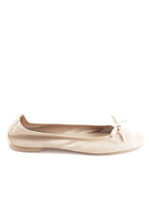 Vero Cuoio faltbare Ballerinas nude-creme Elegant