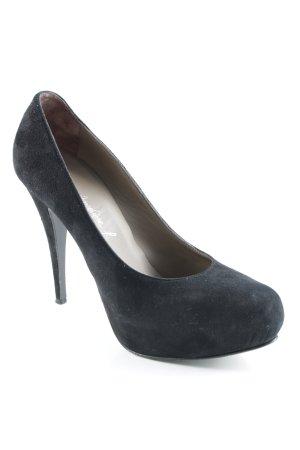 Vero Cuoio High Heels schwarz Business-Look