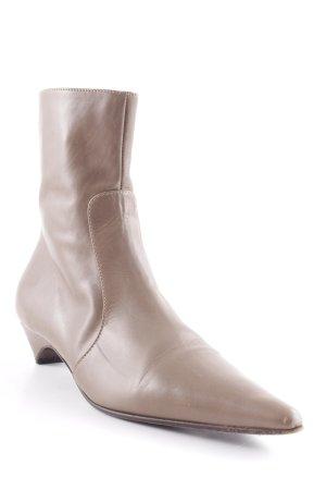 Vero Cuoio Reißverschluss-Stiefeletten graubraun Casual-Look