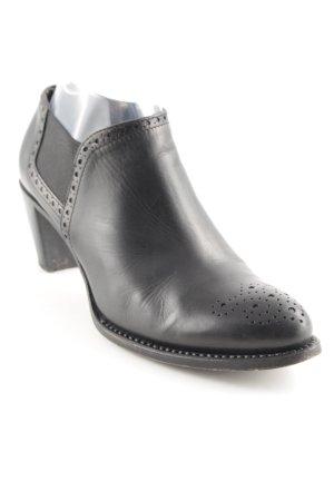 Vero Cuoio Reißverschluss-Stiefeletten schwarz Casual-Look
