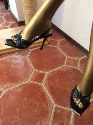 Vero Cuoio Samantha Leder Sandaletten Gr 36