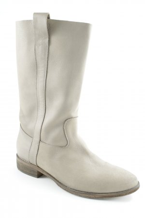 Vero Cuoio Jackboots light grey casual look