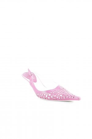 Vero Cuoio Spitz-Pumps magenta Casual-Look