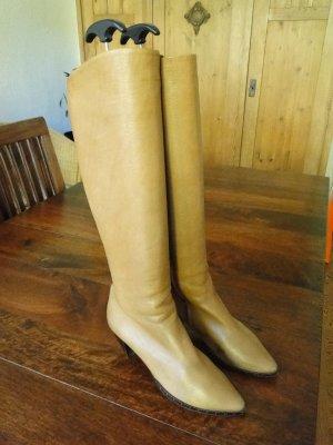 Vero Cuoio Stiefel aus Italien, hellbraun, Größe 37