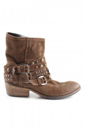 Vero Cuoio Western Boots brown extravagant style