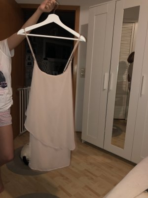 Vero Moda Flounce Dress dusky pink