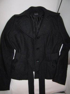 Vero Moda - 2 Winterjacken in dunkelgrau mel. und schwarz  XL