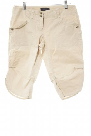 Vero Moda 3/4 Length Trousers cream-gold-colored simple style