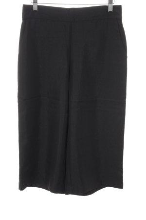 Vero Moda Pantalon 3/4 noir style décontracté