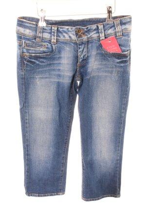 Vero Moda 3/4-jeans blauw casual uitstraling