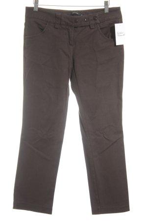Vero Moda 7/8 Jeans dunkelbraun schlichter Stil