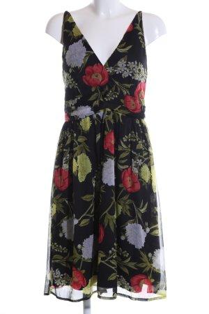 Vero Moda A-Linien Kleid Allover-Druck Casual-Look