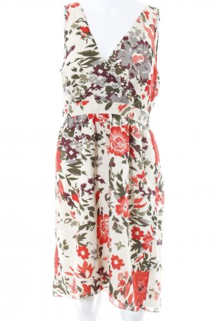 Vero Moda A-Linien Kleid Blumenmuster Casual-Look
