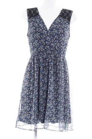 Vero Moda A-Linien Kleid Blumenmuster College-Look