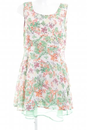 Vero Moda A-Linien Kleid Blumenmuster extravaganter Stil