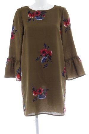 Vero Moda A-Linien Kleid Blumenmuster schlichter Stil