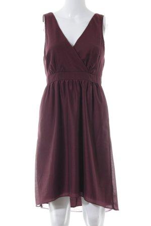 Vero Moda A-Linien Kleid bordeauxrot Elegant