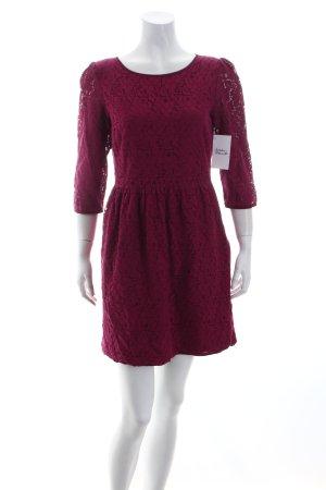 Vero Moda A-Linien Kleid bordeauxrot Eleganz-Look