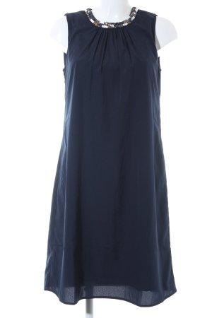 Vero Moda A-Linien Kleid dunkelblau schlichter Stil