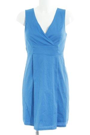 Vero Moda A-Linien Kleid kornblumenblau-neonblau Business-Look