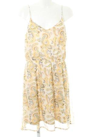 Vero Moda A-Linien Kleid Paisleymuster Casual-Look
