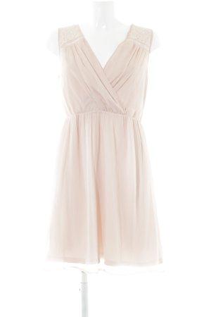 Vero Moda A-Linien Kleid rosé Romantik-Look