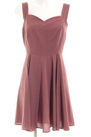 Vero Moda A-Linien Kleid rostrot Casual-Look
