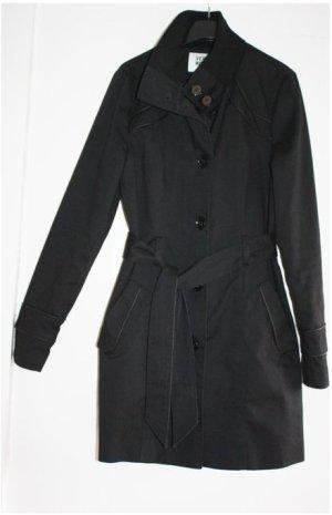 Vero Moda Trench Coat black mixture fibre