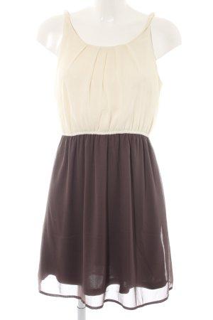 Vero Moda Abendkleid beige-wollweiß Casual-Look
