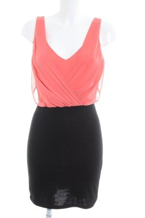 Vero Moda Abendkleid pink-schwarz Casual-Look